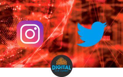 Atelier Instagram et Twitter